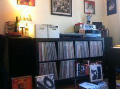 #vinyl room