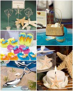 Beach Themed Wedding Favors #weddingfavors