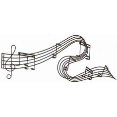 For the living room music area.... Found it at Wayfair - Toscana with Music Notes Wall Décor