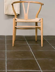 Alicante Terra Cotta, floor tiles hand crafted in Spain. Alicante Black Terra Cotta adds a bold contemporary flair to a material that is commonly used in a rustic setting. Exquisite Surfaces