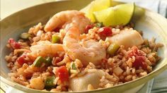 This version of jambalaya is grilled in foil packets, resulting in a tender stew with a slight smoky flavor.
