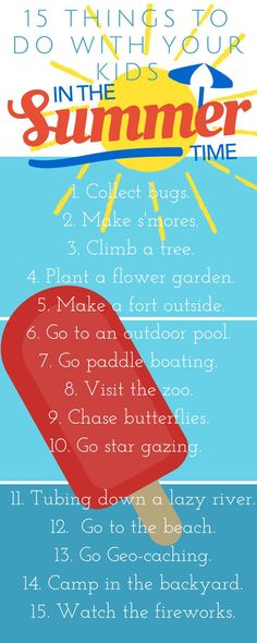 101 Summer fun ideas