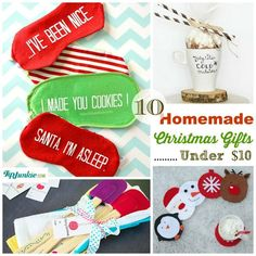 homemade christmas gifts under 10 gift idea
