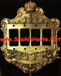 These Ornate Crown Switch Plates Are A Must Have See Our Other Options To Best Fit Your Unique Style