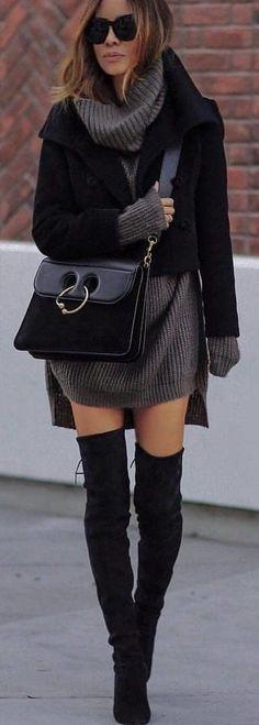 #winter #outfits black blazer #Blazers #Suiting&Blazers