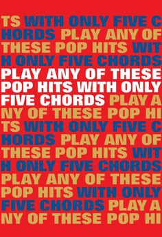 """Read """"Play Any Of These Pop Hits With Only 5 Chords"""" by Wise Publications available from Rakuten Kobo. Play Any Of These Pop Hits With Only 5 Chords! With Guitar chord diagrams and full lyrics you can pick up your Guitar an. Freda Payne, In The Midnight Hour, Atomic Kitten, Faces Band, Wilson Pickett, Burning Love, Roy Orbison, Pop Hits"""