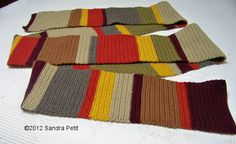 The Crochet Cabana Blog: Doctor Who S12 scarf finis