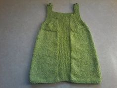 Tuto tricot robe de fête bébé