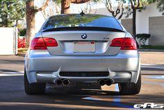 BMW M3 E92 Silverstone back