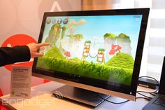 Lenovo trots out a 4K Android-powered all-in-one, with a standalone monitor to match. Sweet!