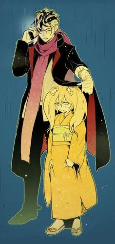 Gundam Tanaka and Saionji Hiyoko.