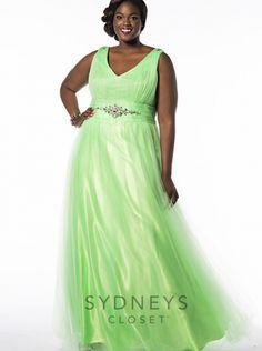 3fc6c9c9623 2016 sydney  s closet Fairy-tale Tulle Plus Size Prom Dress SC7154 Plus