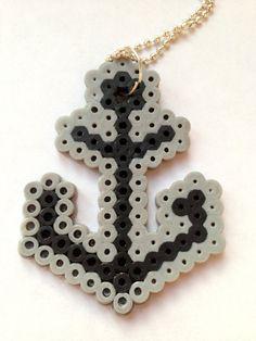 Perler Bead Cute Anchor