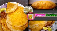 Paneer Paratha - in Tamil - Paneer Stuffed Delicious Parathas Bread Dishes, Types Of Bread, Bread Recipes, English Channel, Ethnic Recipes, Indian, Food, Indian People