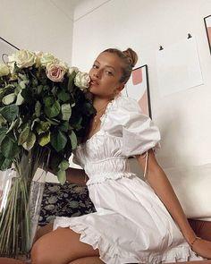 Boho Style Mini Dress Ootd, White Mini Dress, For Love And Lemons, The Dress, Pretty Dresses, Boho Fashion, Style Fashion, Womens Fashion, Fashion Tips