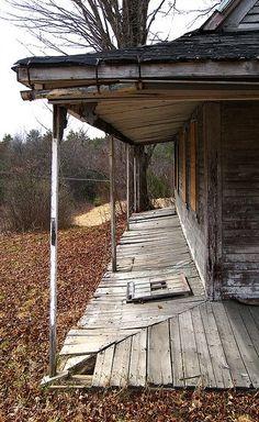 Old Farm House Porch