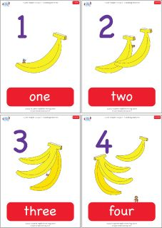 Practice counting from 1-20 with these number flashcards from Super Simple Learning. #preK #Kindergarten #ESL