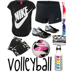Volleyball game/practice outfit