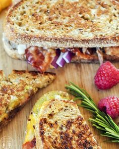 Roast Beef Grilled Cheese Sandwiches @FoodBlogs