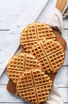 "EASY 30-minute YOGURT WAFFLES! Totally <a class=""pintag searchlink"" data-query=""%23vegan"" data-type=""hashtag"" href=""/search/?q=%23vegan&rs=hashtag"" rel=""nofollow"" title=""#vegan search Pinterest"">#vegan</a> <a class=""pintag"" href=""/explore/glutenfree"" title=""#glutenfree explore Pinterest"">#glutenfree</a> and SO tender and crisp!!"