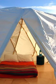 If someone puts it up for me. Cool tent!