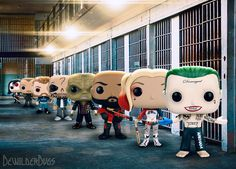 Suicide Squad POP! Vinyls... Oh, they're not gonna kill ya... They're just gonna make you smile, really, really, bad.