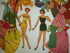 Paper dolls 1961