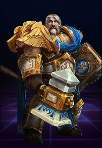 UTHER THE LIGHTBRINGER The first paladin and founder of the Order of the Silver Hand, Uther the Lightbringer is a faithful servant of the Light. Dispensing justice with the swing of his hammer, Uther is a bastion of truth and an unflinching symbol of the Alliance.