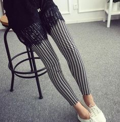 Women's Hot Print Flower Guitar Plaid Thin Pant Fashion Leggings Plus Size Sequin Leggings, Fleece Leggings, White Leggings, Printed Leggings, Coloured Leggings, Colorful Leggings, Leggings Fashion, Fashion Pants