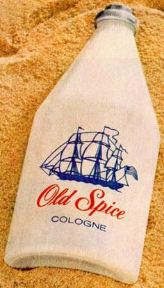 My dad got an Old Spice cologne bottle like this every Christmas. I love the scent to this day! Now I buy it for my husband.