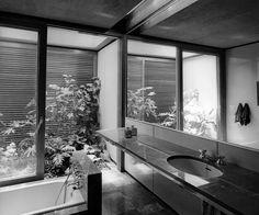 House in Filothei, Attica, Greece. Athens Apartment, Architectural Floor Plans, Googie, Dom, Ground Floor, Attica Greece, Mid-century Modern, Architecture Design, Greek