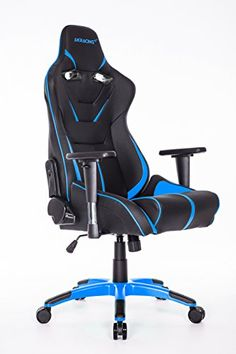 AKRacing AK9011 Large Size Series Ergonomic Racing Style Computer Gaming Chair  BlackBlue >>> Check out the image by visiting the link.