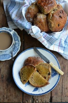 Lavender and Lovage | Toasted Teacakes and a Cuppa! Yorkshire Teacakes Recipe | http://www.lavenderandlovage.com