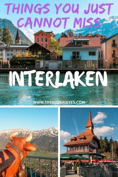 Interlaken is a wonderful little place nested in between two of Switzerland's most gorgeous lakes and mountains. Read this post to make sure you know the best things to do in Interlaken. Interlaken Switzerland I Switzerland Travel I Switzerland Interlaken Backpacking Europe, Europe Travel Tips, Travel Abroad, Travel Advice, Travel Destinations, Travel Hacks, Travel Quotes, Travel Ideas, Travel Checklist