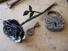 Amazing Rose Lock And Key.