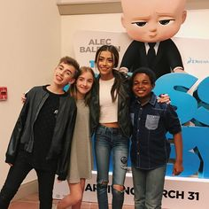 #TheBossBaby movie is out in theatres today! Such a funny movie go check it out…