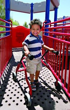 KidBuilders® Inclusive playgrounds are designed with everyone in mind, because everyone deserves the highest level of fun. We take this challenge very seriously. Consulting with both child development and inclusive playground experts, we incorporate focus on the complexities and development benefits of play to include the specific features children need at each stage of growth.