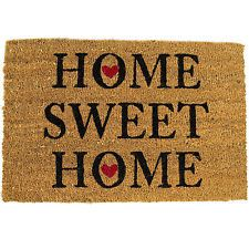 Home Sweet Home Hearts Anti Slip Entrance Floor Natural Coir Front Door Doormats | eBay