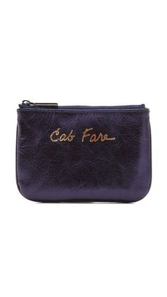 Too Cute...I really like all her bags!  Rebecca Minkoff Cab Fare Cory Wallet
