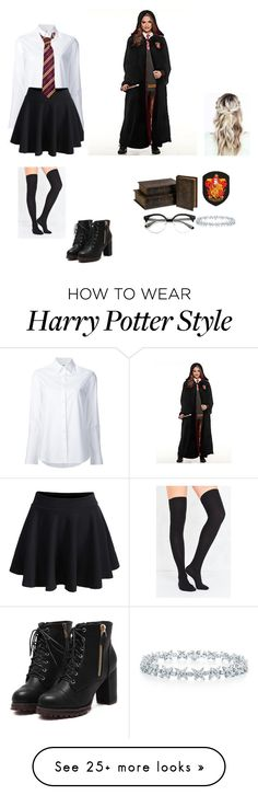 """Back to Hogwarts"" by ericanais on Polyvore featuring Misha Nonoo, WithChic, Out From Under, IMAX Corporation and Tiffany & Co."