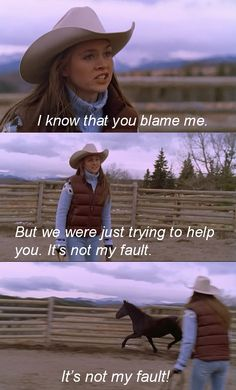 """I know that you blame me. But we were just trying to help you. It's not my fault! It's not my fault!!"" - Amy"