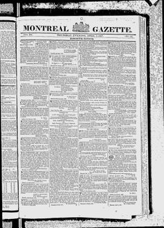 MONTREAL - 1827 - Montreal Gazette - Google News Archive Search