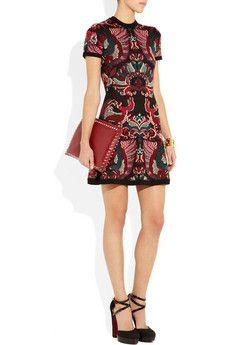 Wool dress...nice!!!  -McQ Alexander McQueen