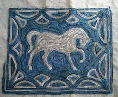 Woolen Tales Rug Art :horse