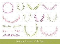 couronne de laurier dessin laurel marque de designer feuille couronne florale