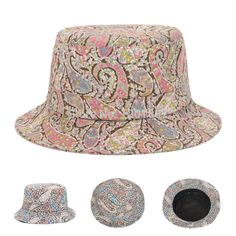 Find More Bucket Hats Information about 2015 Hot Sales New Fashion Spring Summer Paisley Geometric Floral Bucket Hats For Women Outdoor Casual Sun Hat  Goldtop,High Quality Bucket Hats from Goldtop on Aliexpress.com