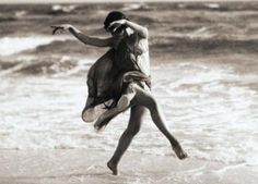 """Isadora Duncan. """"To express what is the most moral, healthful and beautiful in art this is the mission of the dancer, and to this I dedicate my life."""""""