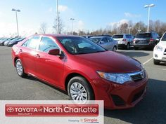 The N Charlotte Toyota Camry has is the best-selling mid-size vehicle in its class for 2012! Why do so many people want to drive this amazing vehicle? Besides its affordability and versatility, it also offers plenty of style and fun and functional features! Come in to test-drive it today!http://blog.toyotaofnorthcharlotte.com/2013/toyota-camry-near-charlotte-is-best-selling-mid-size-auto-in-2012/#