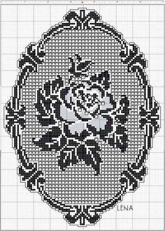 Filet crochet                                                                                                                                                                                 More