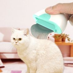 This pet grooming comb is easy to use. It is suitable for dogs and cats of short hairs. This pet shell type grooming brush is not only a deShedding tool but also a massage tool. Pet Dogs, Dog Cat, Pets, Massage Tools, Cat Hair, Pet Fashion, Bichon Frise, Pet Grooming, Pet Supplies